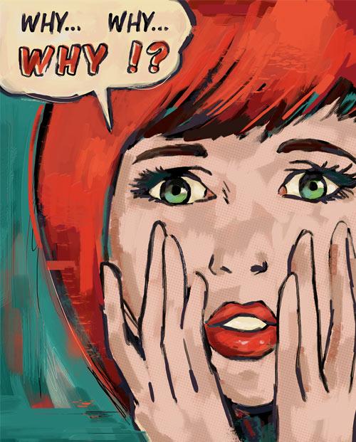 Lichtenstein pop art portrait style Roy Lichtenstein