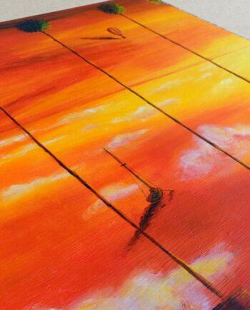Peinture originale La rupture