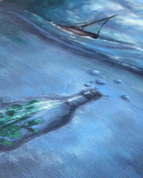 Tableau à l'huile Jour d'orage labaleinegraphique.com