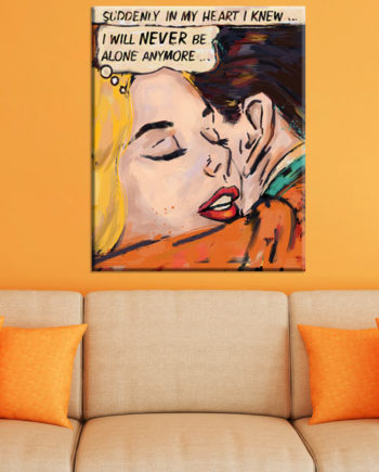 Déco pop art « A new romance »