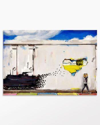 Tableau Graffiti Révolution
