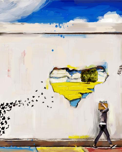 tableau graffiti revolution zoom