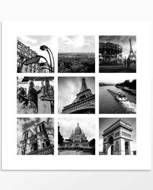 Multi photos Le tourbillon de Paris