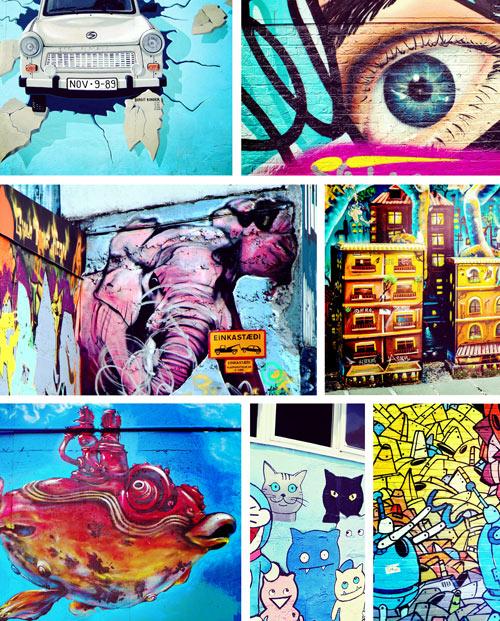 Multi-photos Street Art
