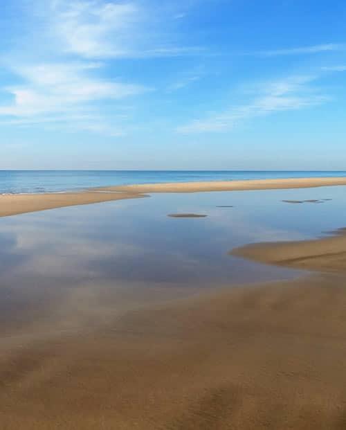 Photo art Longue plage de Camargue