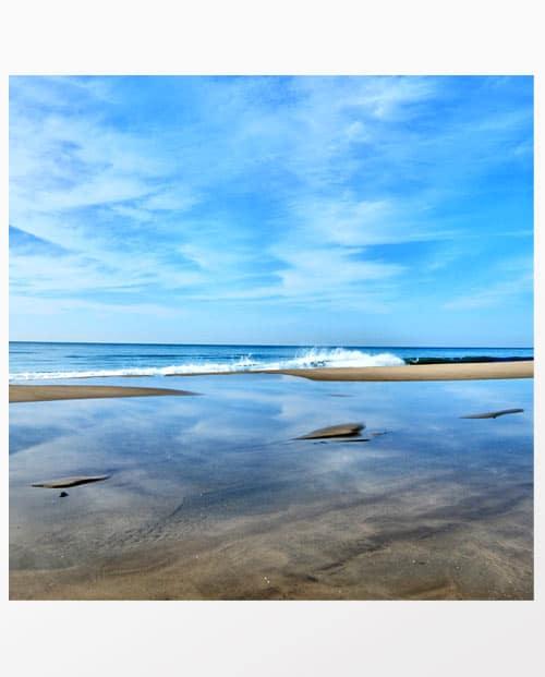 Photographie mer Le bruit des vagues