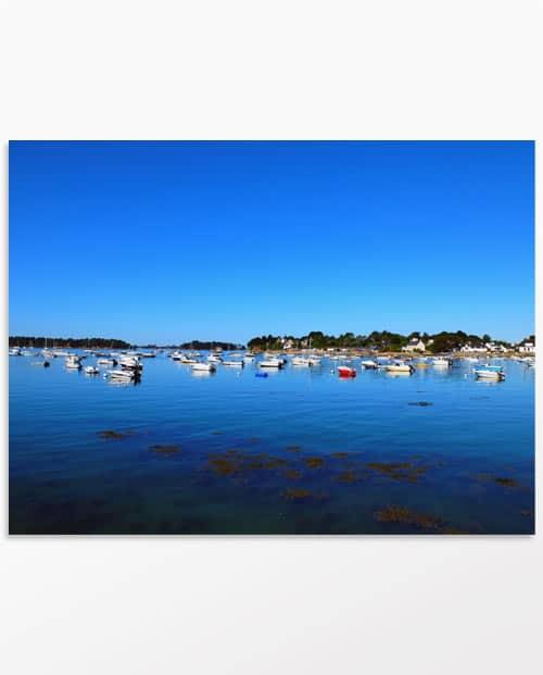 Photo artistique Escale dans le golf du Morbihan