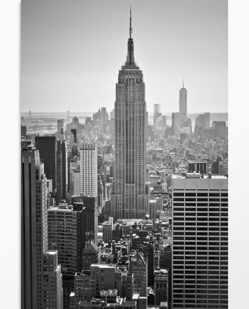 Tableau photo Le grand New York