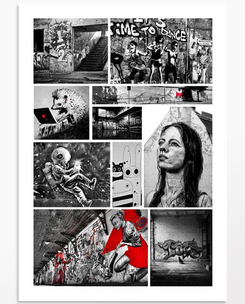 photos street art couleurs Stendhal