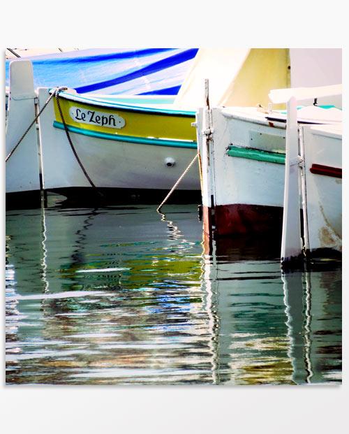 tableau triptyque pointus barques marseille