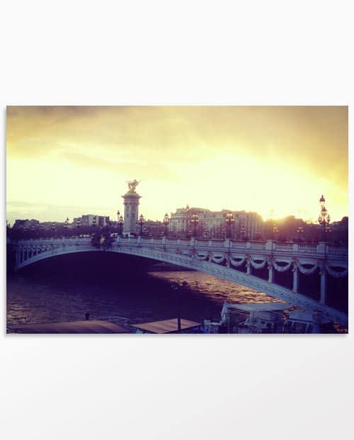 photo déco Paris Pont Alexandre III