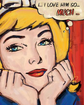 Glam façon Lichtenstein