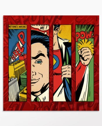 Tableau super-héros