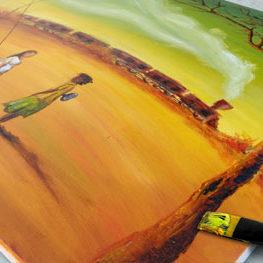 vente tableau peinture à l'huile
