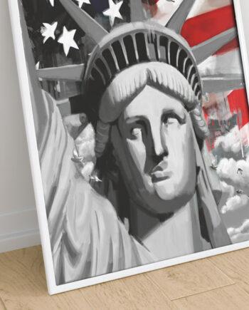 Cadre New York Liberty