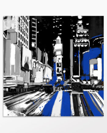 Toile New-York – Times Square