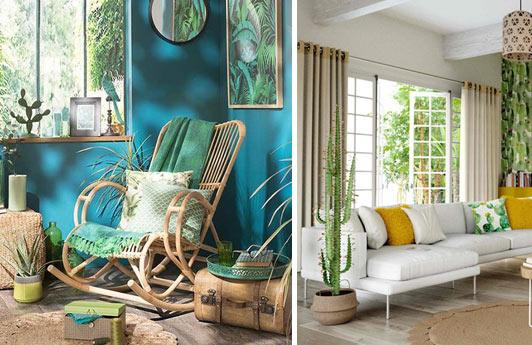 meubles exotiques pour une déco tropicale