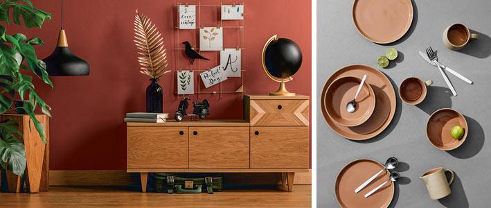 Le rouille, la couleur tendance pour une décoration moderne en 2019