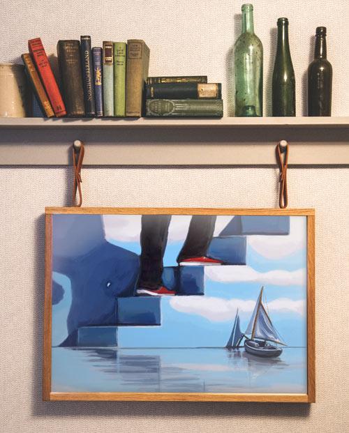 Affiche film Truman Show pour la déco murale de salon