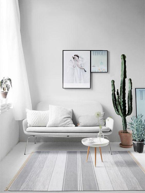 Meuble épuré pour une décoration minimaliste
