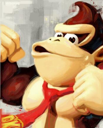 Tableau gaming Donkey Kong