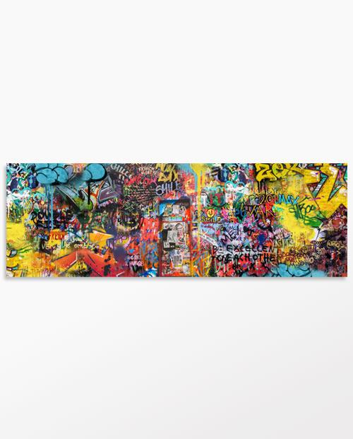Tableau tags et graffiti pour la décoration murale