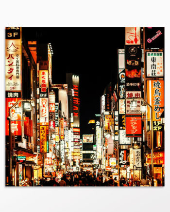 Tableau Tokyo la nuit