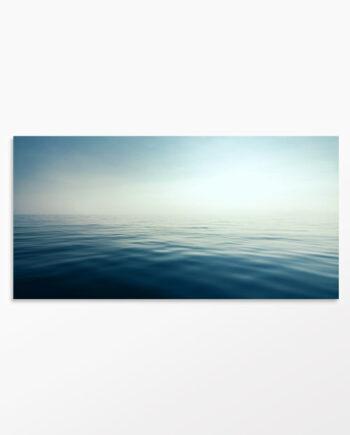 Tableau contemporain mer et horizon