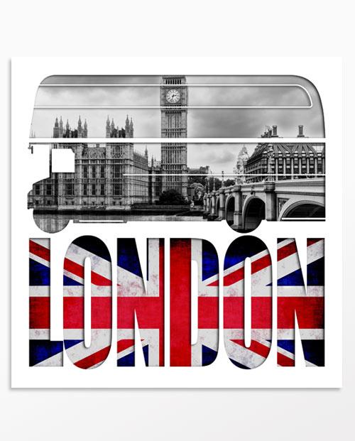 Tableau Londres design pour une décoration murale moderne