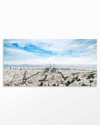 Tableau panorama Paris