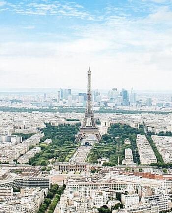 Tableau panorama Paris