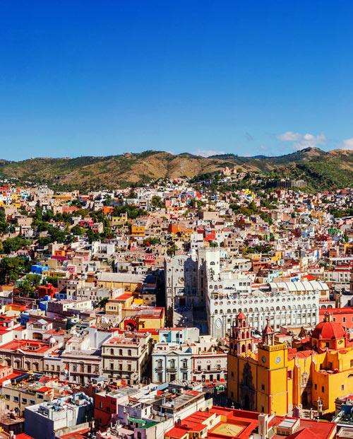 Zoom sur le tableau Mexique Guanajuato