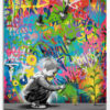 Tableau coloré design d'inspiration street art