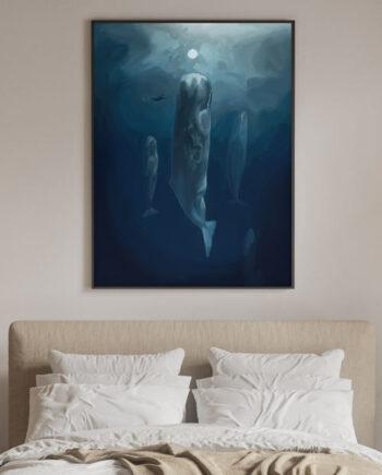 Tableau océan et découvertes